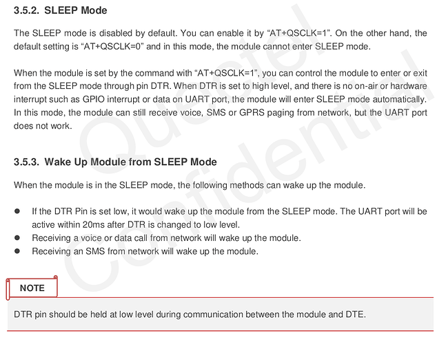 M95 Hardware - Sleep Mode - 2